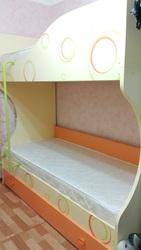 детская двухъярусная кровать Фруттис