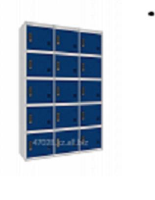 Металлические шкафчики на 15 ячеек в Усть-Каменогорске