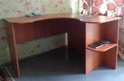Компьютерный стол угловой,  небольшого размера 120х120