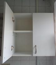 шкаф навесной белый с полкой,  новый 59х59х30,