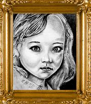 Портреты карандашом на ватмане заказать у художника